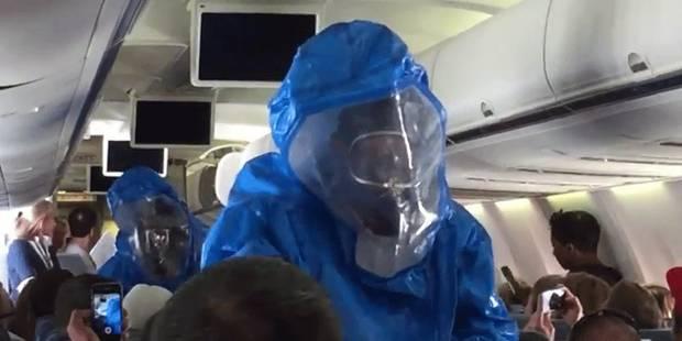Une blague sur Ebola qui tourne mal dans un avion américain - La DH