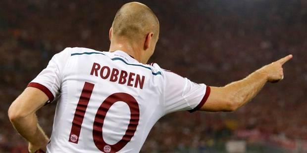 Robben espère jouer contre Dortmund - La DH