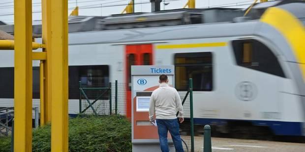 Les cheminots en action Gare Centrale à Bruxelles - La DH