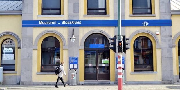Une gare fantôme à Mouscron ? - La DH