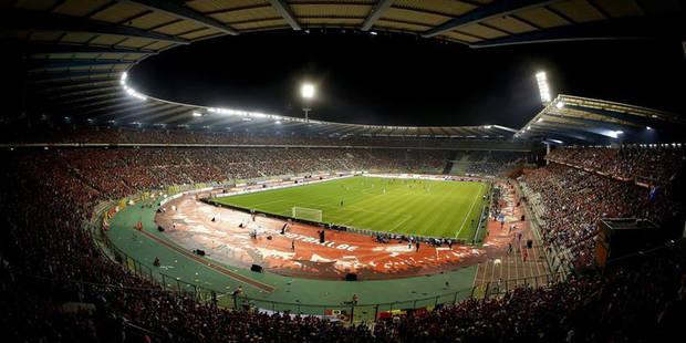 Pourquoi le Heysel sera interdit de foot international en 2017? - La DH