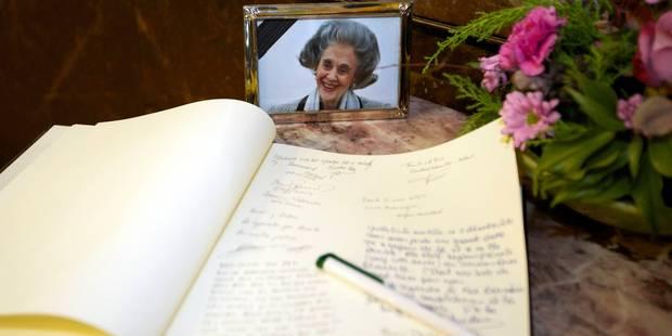 Décès de la reine Fabiola: plusieurs villes ouvrent un registre de condoléances - La DH