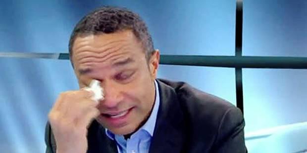 """Luc Maton: """"Je m'excuse d'avoir fondu en larmes"""" - La DH"""