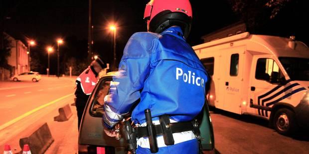 Namur: 18 retraits de permis lors de deux opérations de la police - La DH