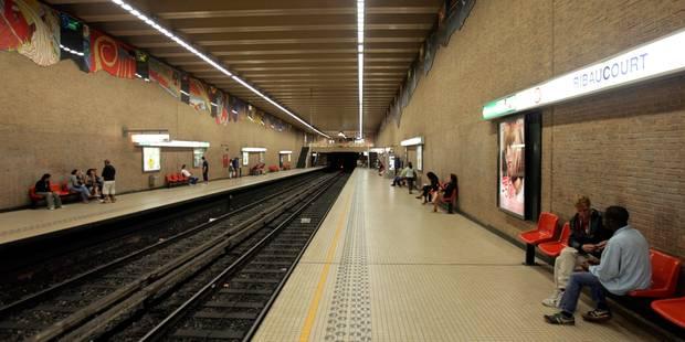 """L'homme qui a sorti une arme et crié """"Allahou akbar"""" dans le métro bruxellois a été arrêté - La DH"""