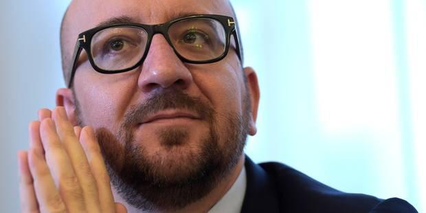 """Charles Michel: """"La peur doit changer de camp"""" - La DH"""