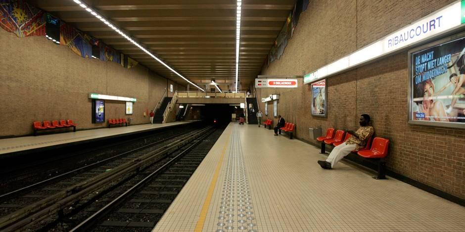 Des stations de métro bruxelloises sans surveillance - La DH
