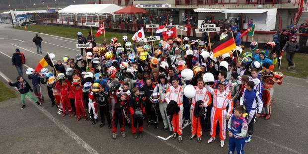 Notre champion GT, Laurens Vanthoor, parrain de la WRT Karting Academy - La DH