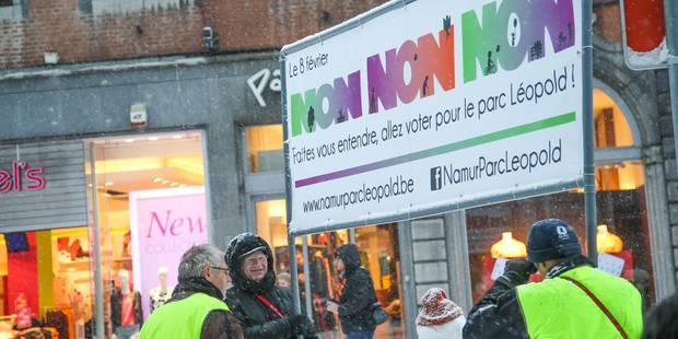 Namur: un comité pour ajuster le projet controversé du parc Léopold - La DH