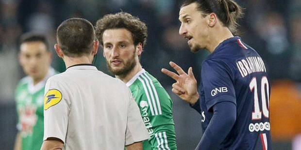 Ibra suspendu 2 matches pour ce vilain geste (Vidéo) - La DH