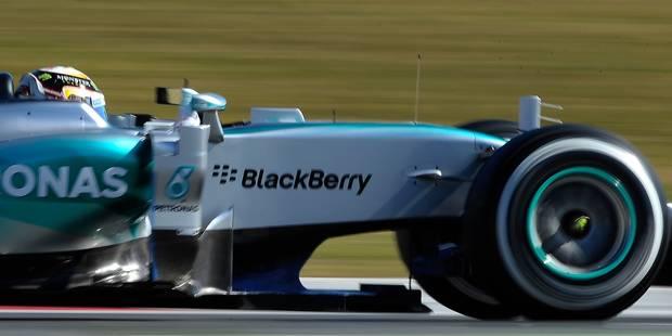 Essais de F1: Lewis Hamilton le plus rapide au 3e jour - La DH