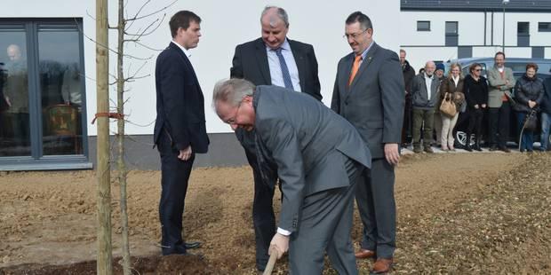 Perwez : 34 nouveaux logements publics inaugurés - La DH