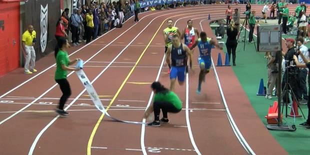 Un athlète percute violemment une jeune fille à l'arrivée d'un 400m - La DH