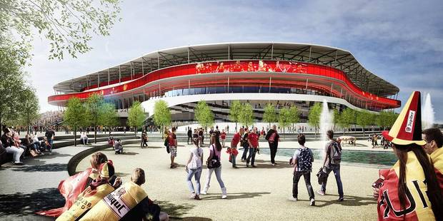 OFFICIEL: voici le futur Stade national - La DH