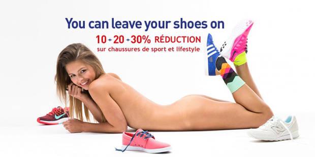 """Cette campagne publicitaire jugée trop """"hot"""" est épinglée en Belgique - La DH"""