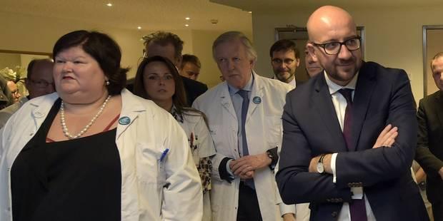 Trois ministres au CHU de Liège - La DH