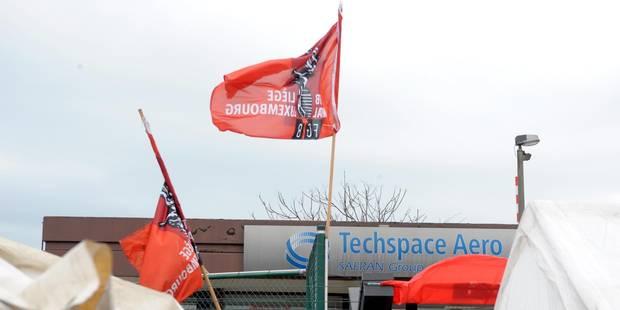 Arrêt de travail chez Techspace Aero - La DH