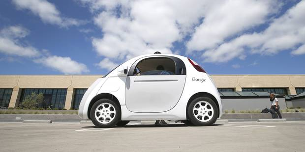 Encore un accident pour la voiture autonome de Google - La DH