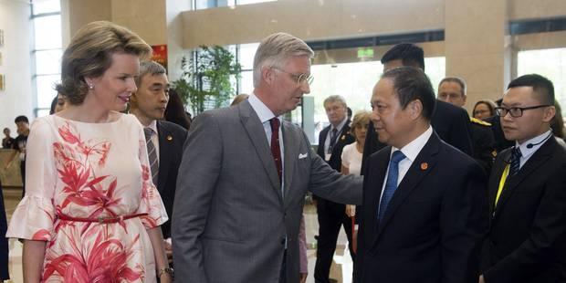 Le Roi appelle à bâtir des ponts entre la Chine et la Belgique - La DH