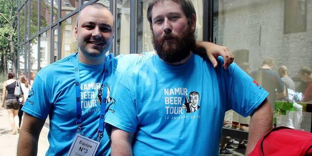 Le Namur Beer Tour a affiché sold out - La DH