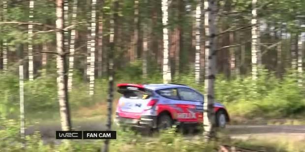 Thierry Neuville percute un arbre: la vidéo du crash - La DH