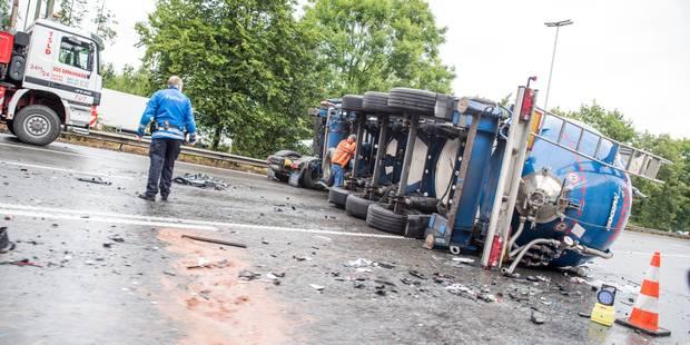 Les accidents de camions tuent trois fois plus - La DH