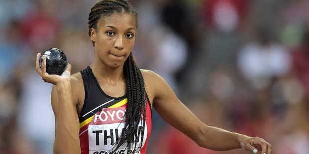 Mondiaux d'athlétisme: le record s'éloigne pour Nafi Thiam - La DH