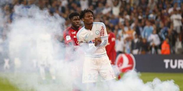 Les Belges à l'étranger: Michy touché par un fumigène fait un nul avec l'OM, Naples étrille la Lazio sans Mertens - La D...