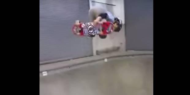 À 11 ans, ce gosse réalise une figure de dingue sur son skate - La DH