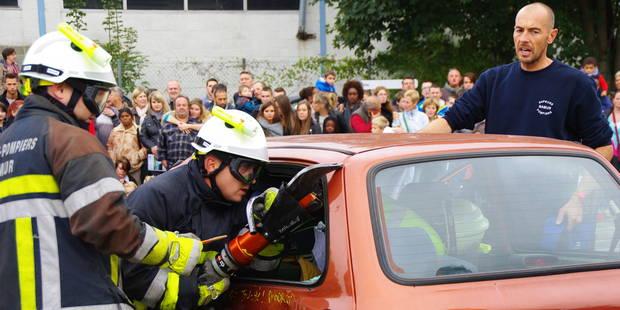 Portes ouvertes chez les pompiers de Namur: Un monde fou ! (PHOTOS) - La DH