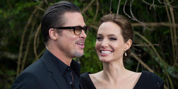 Préoccupé par l'anorexie d'Angelina Jolie, Brad Pitt menace de la quitter - La DH