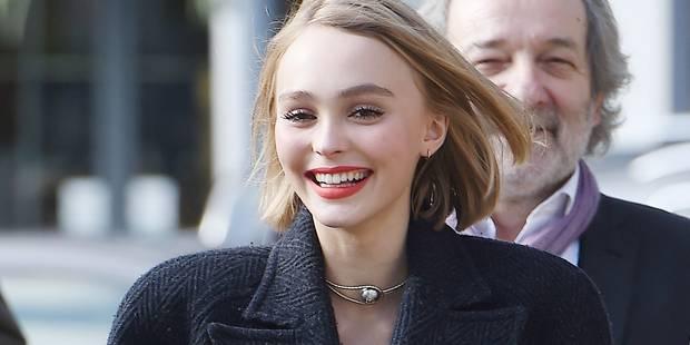 Lily-Rose Depp prend sa notoriété avec pas mal de philosophie - La DH