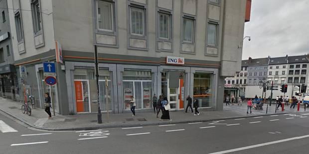 Alerte à la bombe levée dans une agence bancaire d'ING à Ixelles - La DH