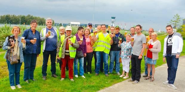 Survol de Bruxelles: les amoureux de l'aéroport s'opposent à sa délocalisation - La DH