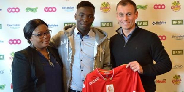 Fadel Gobitaka signe son 1er contrat pro de 3 ans avec le Standard - La DH