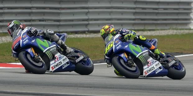 Rossi et Lorenzo ne sont pas prêts à se faire mal ! - La DH
