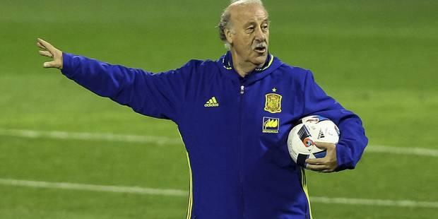 Les joueurs espagnols ont quitté la Belgique: voici la réaction de Del Bosque! - La DH