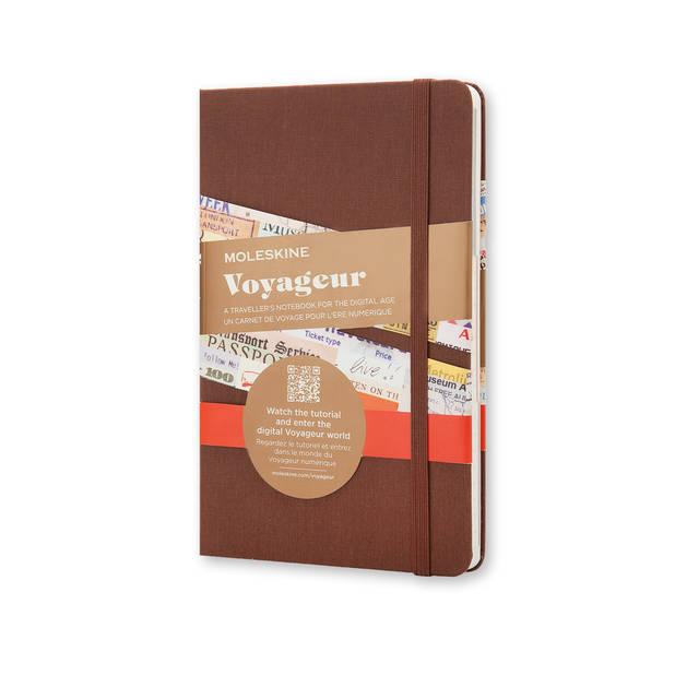Pour son carnet de voyage. Carnet Moleskine Voyageur, 22,90€