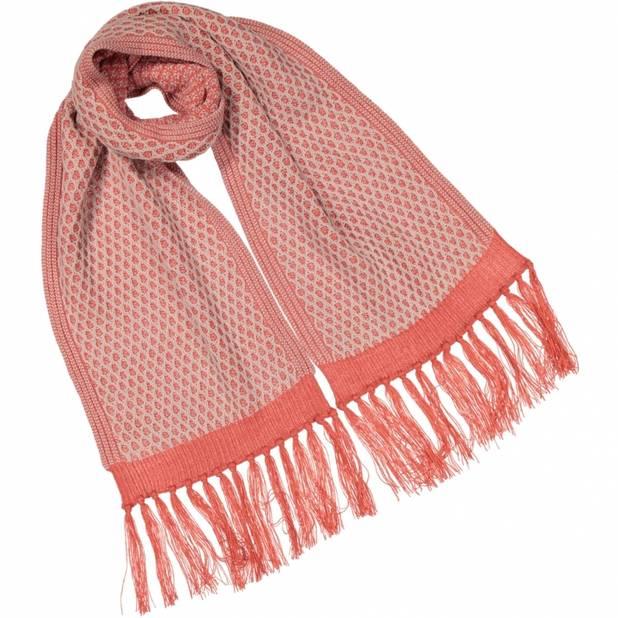 Une écharpe en alpaga Aymara, marque belgo-péruvienne, respectueuse de l'environnement et des travailleurs, 135€. http://shop.aymara.be/