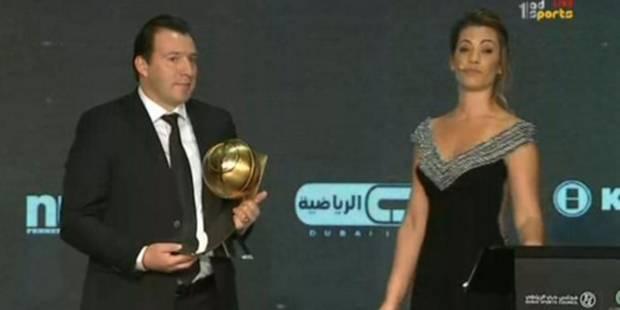 Encore un prix pour Wilmots, élu meilleur coach aux Globe Soccer Awards - La DH