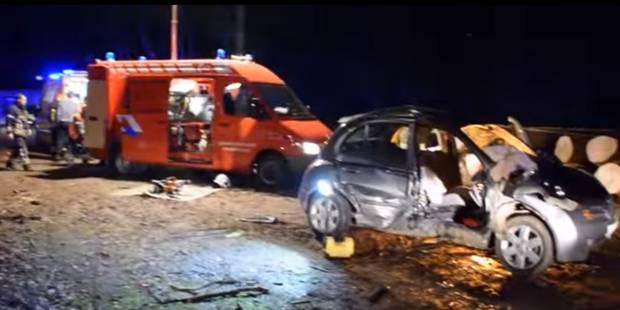 Violente collision au carrefour de la Clairière à Florennes (VIDEO) - La DH