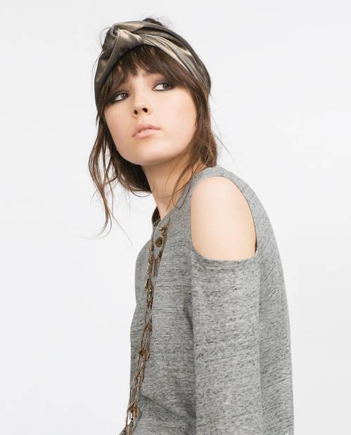 CHÈCHE DORÉ, Zara, 14,95 €