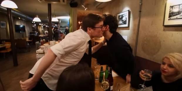 Hilarant: quand un Anglais se moque de la bise française - La DH