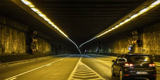 Le tunnel Léopold II restera ouvert au trafic en journée - La DH