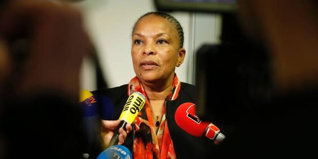 France: Christiane Taubira démissionne - La DH