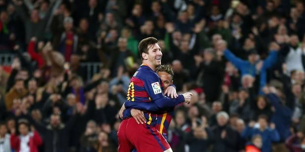 Lionel Messi élu pour la première fois Joueur du mois en Espagne - La DH