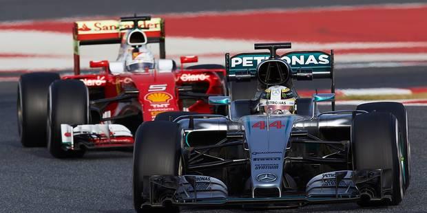 Essais de Barcelone: Vettel le plus rapide, Hamilton le plus assidu - La DH
