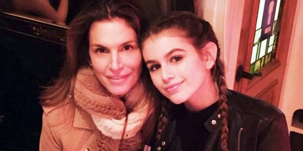 Cindy Crawford pose en Une du Vogue avec sa fille - La DH