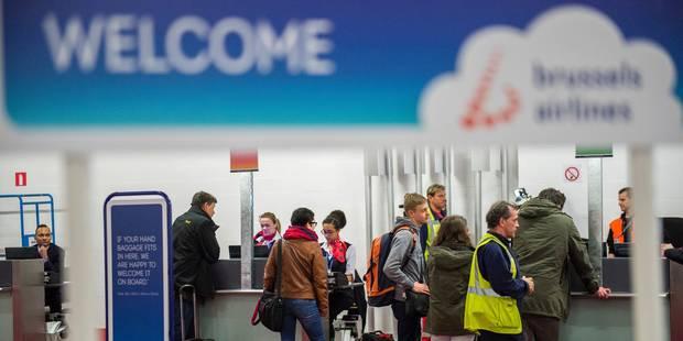 Une centaine de vols seront opérés par trois compagnies à Brussels Airport ce mardi - La DH