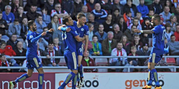 Premier League : Leicester City gagne 0-2 à Sunderland et se rapproche du titre - La DH
